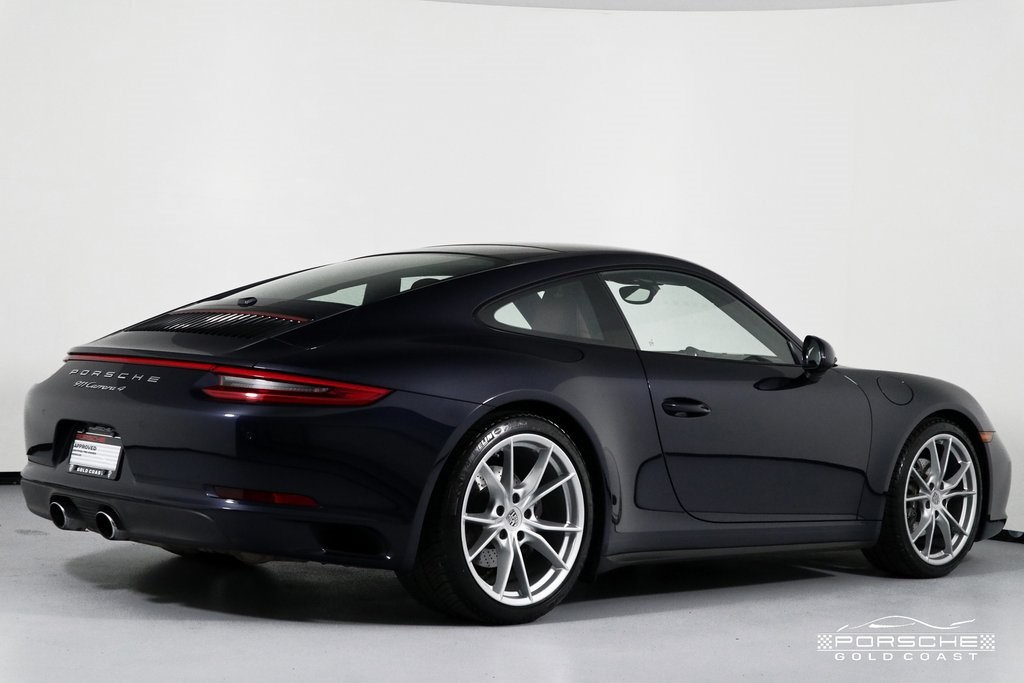Certified Pre-Owned 2017 Porsche 911 Carrera 4 Carrera 4