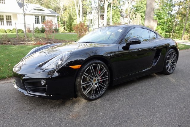 Certified Pre-Owned 2015 Porsche Cayman S Coupe in Roslyn Heights ...