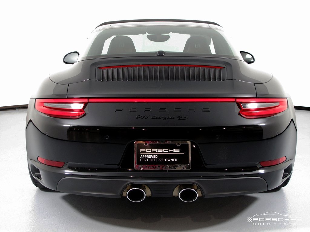 e781a221fcd1b8 Certified Pre-Owned 2017 Porsche 911 Targa 4S Cabriolet in Jericho ...