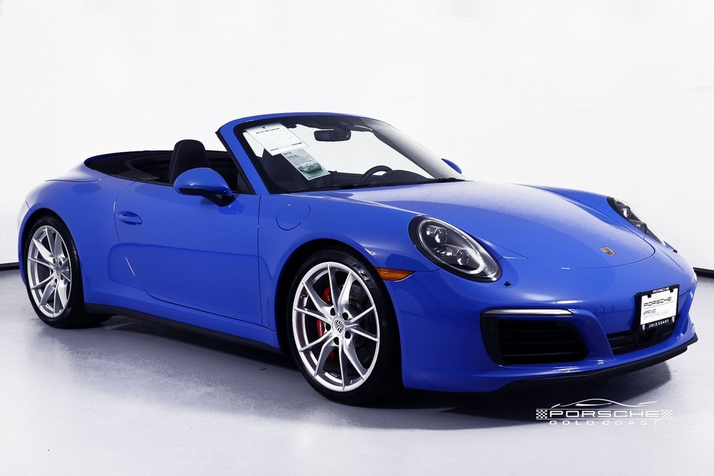 8022b0bfd5e615 Certified Pre-Owned 2017 Porsche 911 Carrera 4S Cabriolet Cabriolet ...