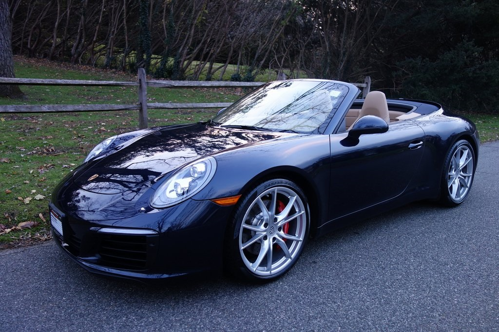 Certified Pre Owned 2017 Porsche 911 Carrera S Cabriolet