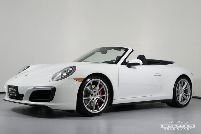 Certified Pre-Owned 2017 Porsche 911 Carrera 4S Cabriolet
