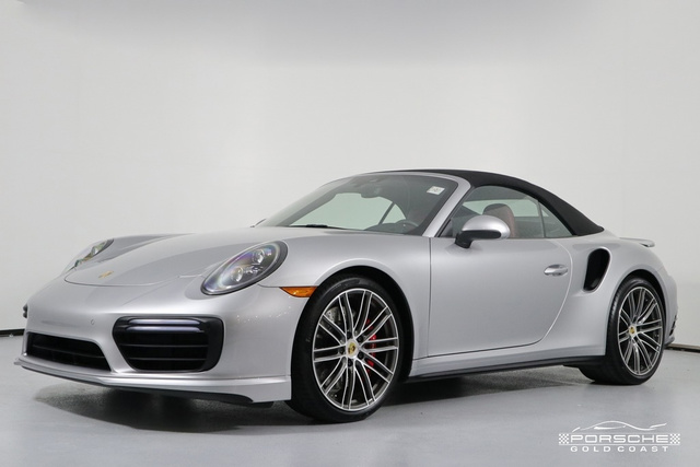 Pre-Owned 2019 Porsche 911 Turbo Cabriolet