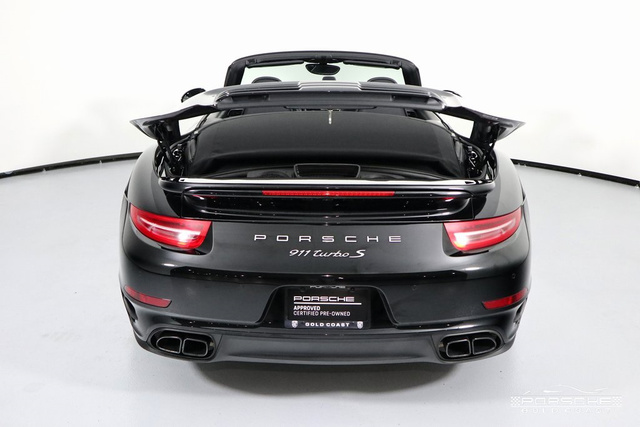Certified Pre-Owned 2016 Porsche 911 Turbo S Cabriolet