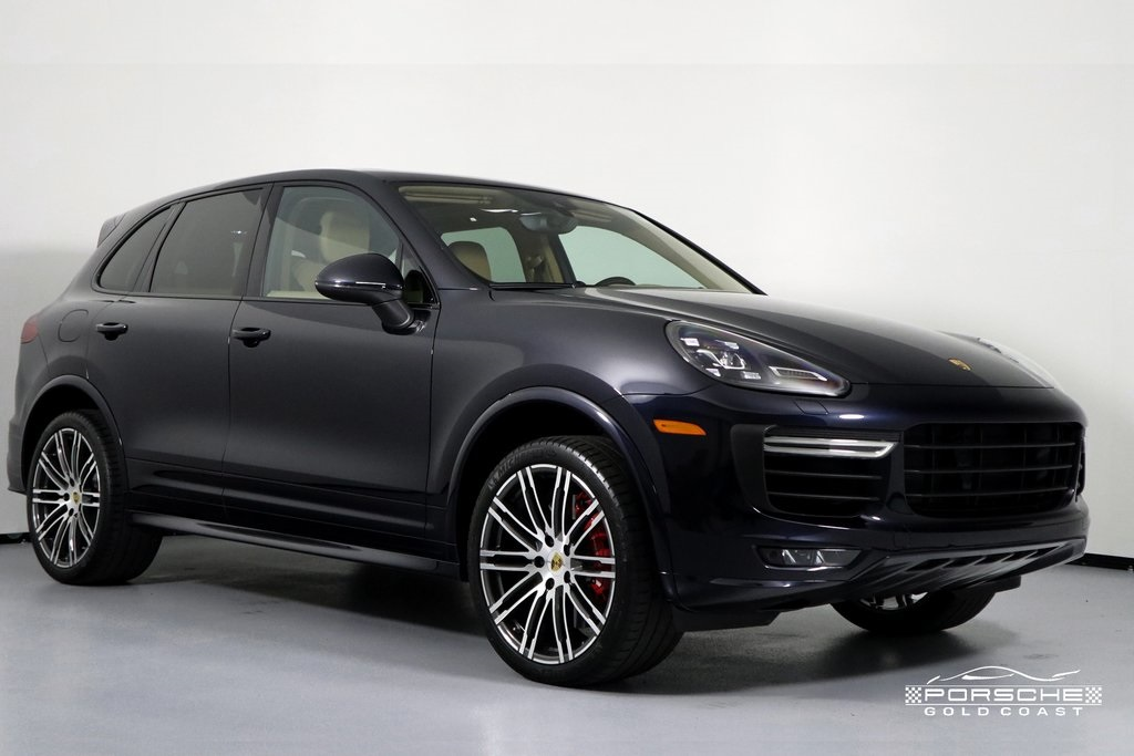 Certified Pre-Owned 2016 Porsche Cayenne Turbo