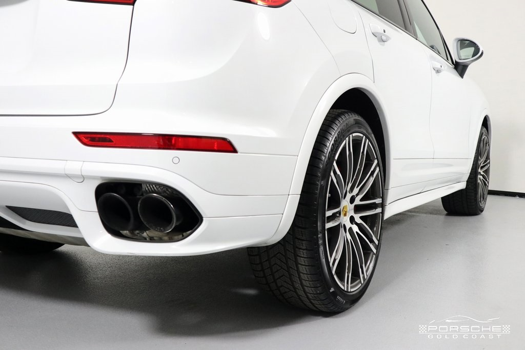 Certified Pre-Owned 2018 Porsche Cayenne Turbo Turbo