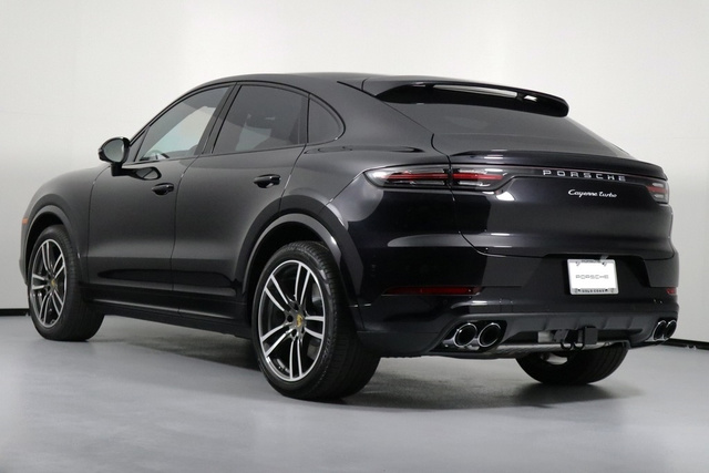 New 2020 Porsche Cayenne Turbo Coupe