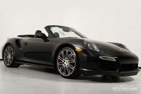 Certified Pre-Owned 2015 Porsche 911 Turbo Cabriolet